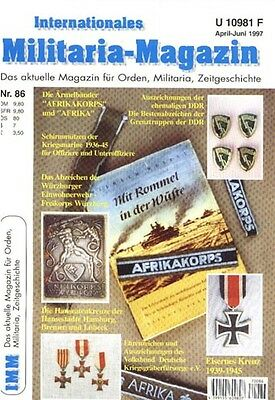 MILITARIA #86 - COLLECTOR MAGAZINE from GERMANY