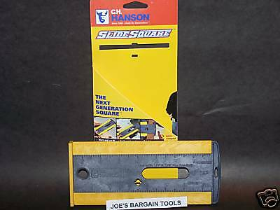 Woodworking Construction SLIDE SQUARE TOOL HANSON