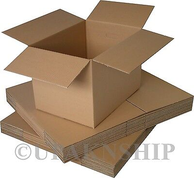 25 5x5x5 Cardboard Shipping Boxes Corrugated Box Cartons EXPEDITED SHIP