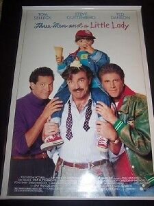 THREE MEN AND A LITTLE LADY - D/S Original Movie Poster