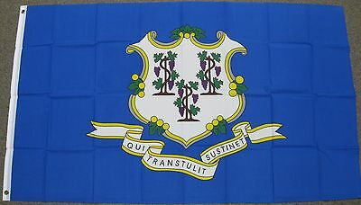 3X5 Connecticut State Flag Ct Flags Banner Usa Us F233