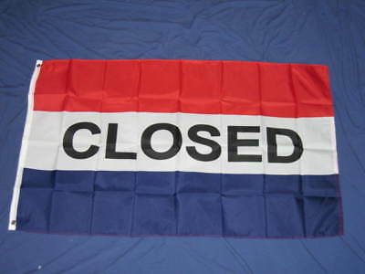 3X5 Closed Flag New Advertising Banner Sign Open F609