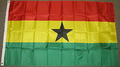 3X5 Ghana Flag National Country Flags New Africa F634