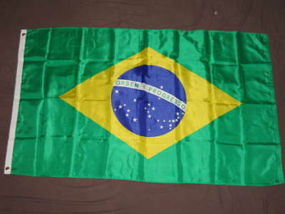3X5 Nylon Brazil Flag New Brazilian South America F835