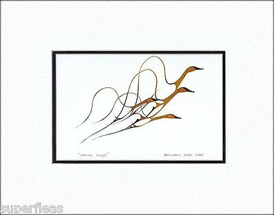 Iconic artwork SPRING FLIGHT by BENJAMIN CHEE CHEE Canadian Woodlands art print