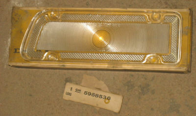 NOS 67 Biscayne Back Up Lamp Lens 427 SS Chevy 1967