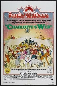 CHARLOTTE'S WEB - 27x41 Original Movie Poster One Sheet