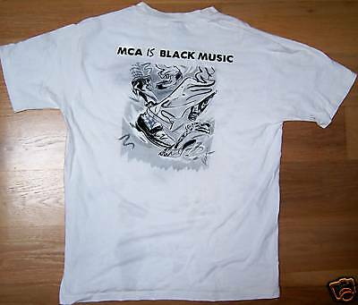 MCA Records - MCA IS BLACK MUSIC - Black Music Month - Vintage Promo T-Shirt