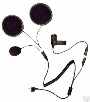 Kenwood / Baofeng / PMR446 Motorcycle Helmet Headset FULL FACE