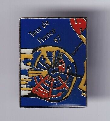 Rare Pins Pin's ..velo Cycling Tour De France 1997 #7Z