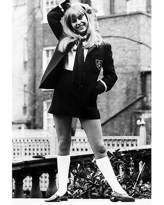 Susan George Twinky 8X10 School Girl Outfit Photo
