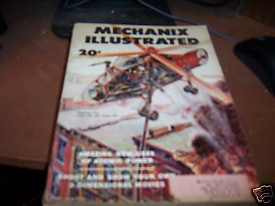 Mechanix Illustrated August 1953 Fighting Fire from Air