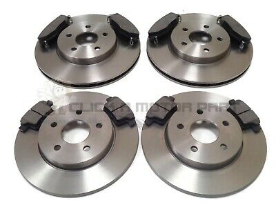 and Pads Set for FORD MONDEO V 2 ltr Rear Apec Brake Disc Pair