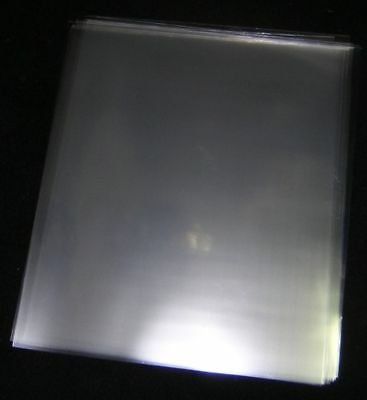 50 Acid-Free Crystal Clear Plastic Sheet Protectors