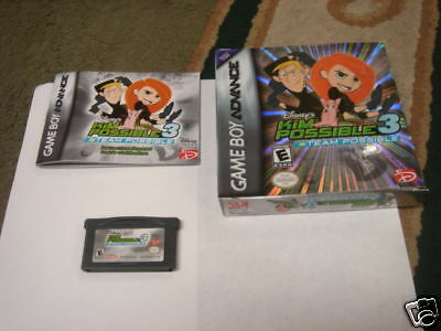 Kim Possible 3: Team Possible (Game Boy Advance) COMPLE