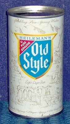 TIN OLD STYLE NO RIBBON 12oz BEER CAN PULL TAP