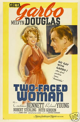 Conquest Greta Garbo vintage movie poster #2