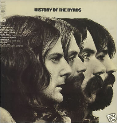THE BYRDS - HISTORY OF THE BYRDS cbs 68242 2 LP 1973 UK