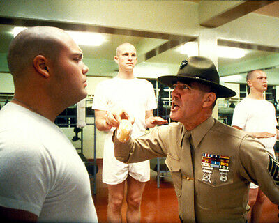 R. Lee Ermey Full Metal Jacket Classic Drill Sgt Photo