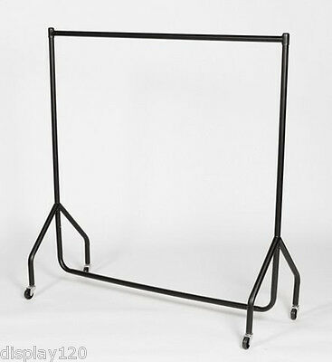 """CLOTHES RAILS garment rail 6ft + 24"""" Height Extensions"""