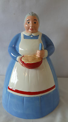 Treasure Craft Rare Baking Granny Cookie Jar #A3295.