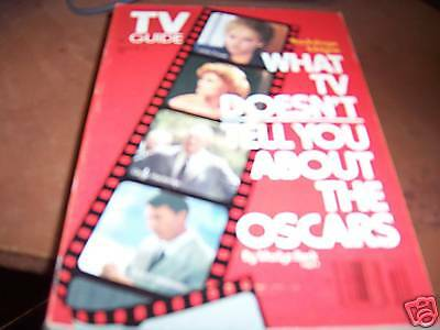 TV Guide March 25-31 1989 The Oscars Dustin Hoffman