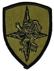 ALLIED LAND FORCES CENTRAL EUROPE - SUBDUED PATCH