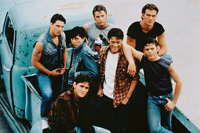 The Outsiders 24X36 Poster Print Pick Up Truck Tom Cruise Ralph Macchio Rob Lowe