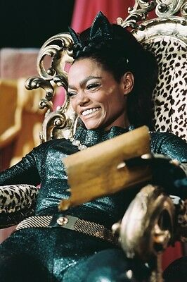 Eartha Kitt As Catwoman From Batman Color Poster Print