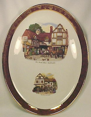 OLD COACH HOUSE MEAT PLATTER Weatherby Hanley England