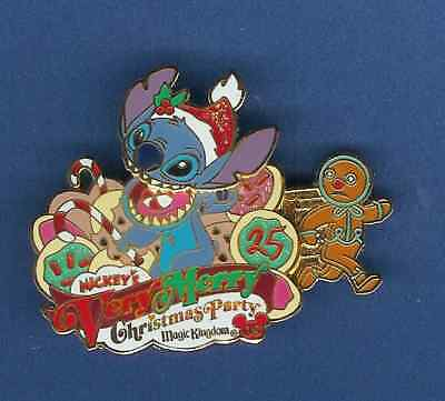 Mickey's Very Merry Christmas Party 2008 Stitch New on a Card