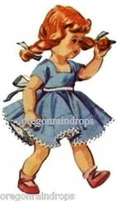Vintage Doll Clothes Pattern for Ginny Muffie Wendy #6