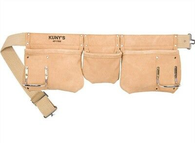 Kunys 5 Pocket Leather Tool Belt/Apron Pouch, AP1300