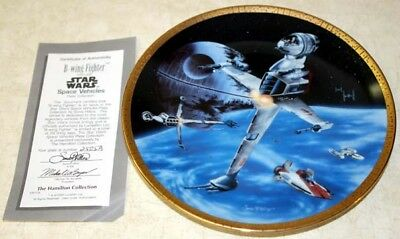 Star Wars B-wing Fighter  Plate Space Vehicle