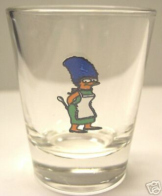 Marge From The Simpsons Tv Show  Shot Glass