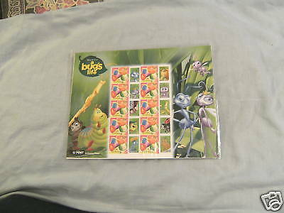 A Bug's Life Disney  Post Office Stamp Sheet