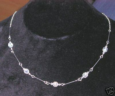 Beautiful Crystal Art Deco Style Necklace