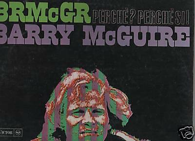 BARRY McGUIRE - PERCHE'? PERCHE' SI! rca victor SIV 11 LP 33 giri rpm 1967 IT