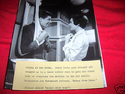 MOVIE AP WIRE PHOTO MONEY FROM HOME Jerry Lewis 1950 #2