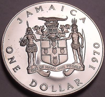 Extremely Rare Proof Jamaica 1993 F.a.o Cent~500 Minted~12 Sided~ackee Fruit~fs Coins