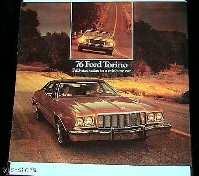 1976 '76 FORD PINTO dealer BROCHURE 12/75 6 pages