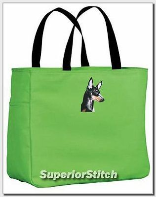 MANCHESTER TERRIER essential tote bag ANY COLOR