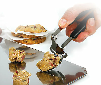 NORPRO 3298 Stainless Steel Ice Cream Scoop and Release Cookie Dropper