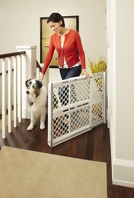 "North States SUPERGATE III Classic Baby and Child Safety Pet Gate, 26"" Tall"