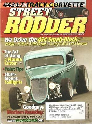 January 2004 Street Rodder Mike Welch's 40 Ford Coupe Bob Dron's 50 Chevy Pickup
