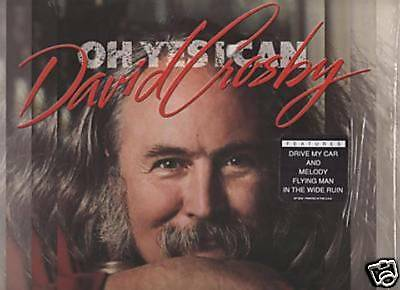 David Crosby - Oh Yes I Can   A&m Sp 5232  Lp 1989 Usa