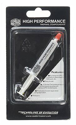 Cooler Master High Performance HTK 2 Gram White Thermal Compound / Paste