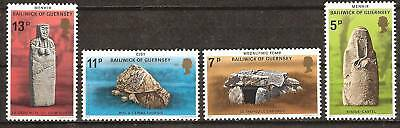 Guernsey # 149-52 Mnh Prehistoric Monuments