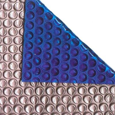 36ft x 18ft  Silver/Blue 400 Micron Swimming Pool Cover Solar Heat Retention