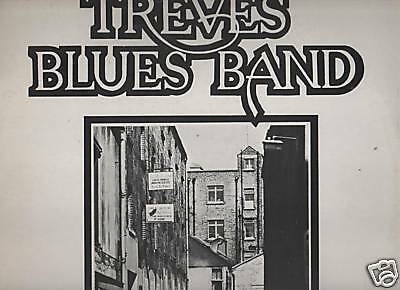 TREVES BLUES BAND  LP  red record VPA 112  1976 ottimo